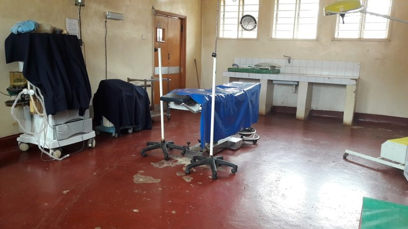 The health facilitys operating theatre