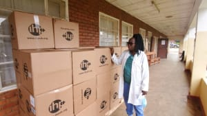 COVID-19 and medical supply chains
